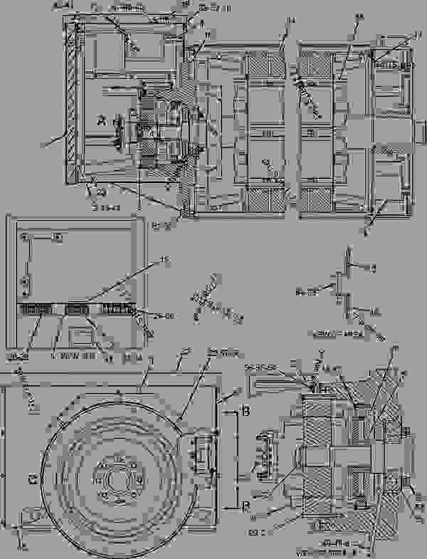 1765866 wiring group sensor engine industrial caterpillar g3516 rh 777parts net C15 Caterpillar Engine Parts Breakdown Caterpillar C12 Engine Diagram