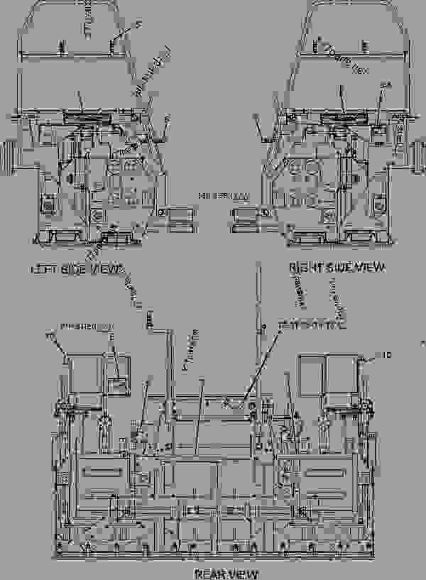 Parts scheme 1459417 PLATE GROUP-BEVEL END  -1.5-INCH - ASPHALT PAVER Caterpillar 10-20B - 10-20B Screed BWN00001-UP IMPLEMENTS | 777parts