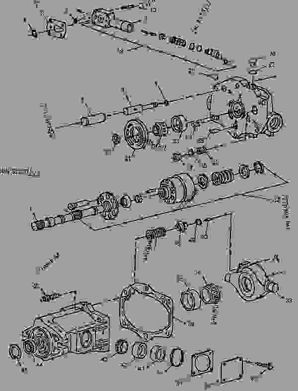 Parts scheme 1313879 PUMP GROUP-PISTON   - COLD PLANER Caterpillar PM-465 - PM-465 Cold Planer 5ZS00001-UP (MACHINE) POWERED BY 3406 Engine HYDRAULIC SYSTEM | 777parts
