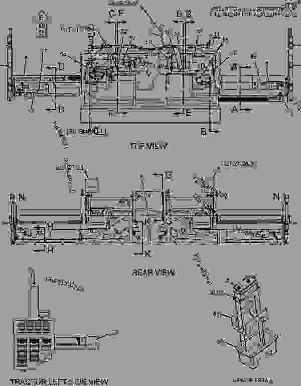 Parts scheme 1919145 WIRING GROUP-SCREED   - ASPHALT PAVER Caterpillar 8-16B - 8-16B EXTEND-A-MAT Screed BLK00001-UP ELECTRICAL AND STARTING SYSTEM | 777parts