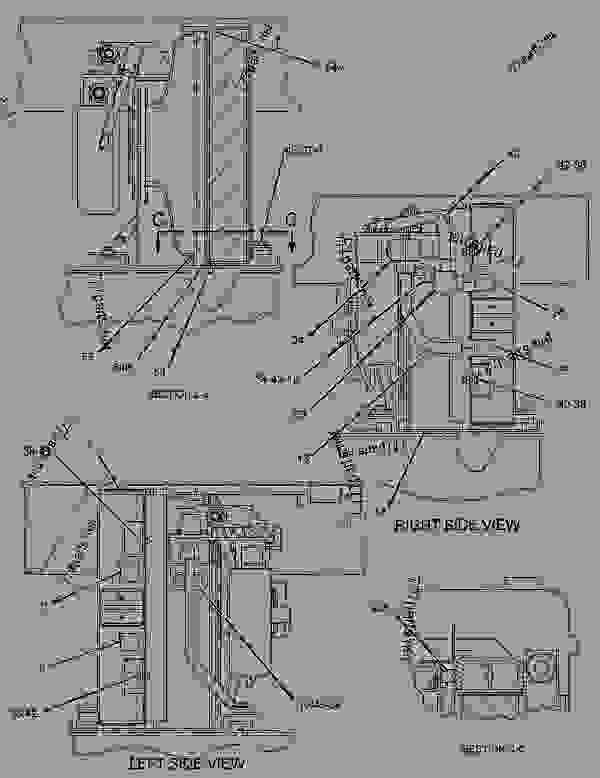 Parts scheme 2649872 WIRING GROUP-ELECTRONIC CONTROL   - EARTHMOVING COMPACTOR Caterpillar 836H - Custom Product Support Literature for the 834H Wheel Type Tractor and the 836H Landfill Compactor BXD00001-UP (MACHINE) ELECTRICAL AND STARTING SYSTEM | 777parts