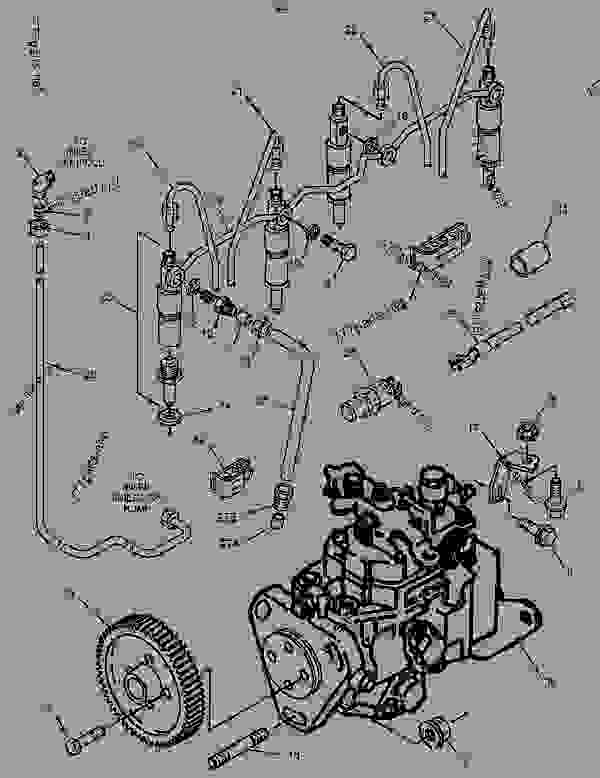 Parts scheme 1871750 PUMP GROUP-FUEL INJECTION   - ENGINE - INDUSTRIAL Caterpillar 3054 - 3054 Industrial Engine 5YS00001-UP FUEL SYSTEM | 777parts