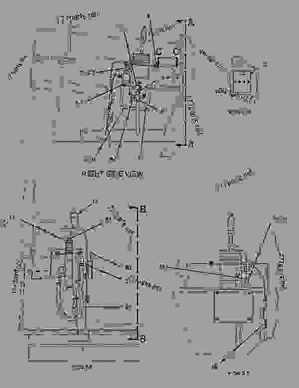 Parts scheme 1245751 CONTROL GROUP-PILOT OPERATED HYD   - EARTHMOVING COMPACTOR Caterpillar 816F - 816F COMPACTOR 5FN00001-UP (MACHINE) OPERATOR STATION | 777parts