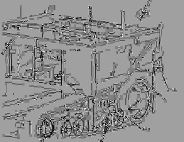 Parts scheme 2752449 ROLLER AR-PUSH   - ASPHALT PAVER Caterpillar AP-655D - AP655D Mobil Trac Asphalt Paver GNZ00001-UP (MACHINE) POWERED BY C6.6 Engine IMPLEMENTS | 777parts