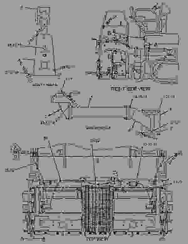 Parts scheme 2093126 CONTROL GROUP-GRADE & SLOPE   - ASPHALT PAVER Caterpillar BG-2455D - AP-1055D, BG-2455D Mobil Track Asphalt Paver BXW00001-UP (MACHINE) POWERED BY C7 Engine SLOPE AND GRADE CONTROL | 777parts