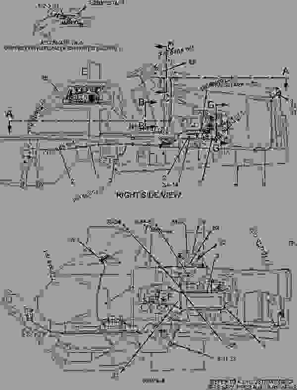 Caterpillar Backhoe Parts Diagram : R battery wiring group backhoe loader caterpillar