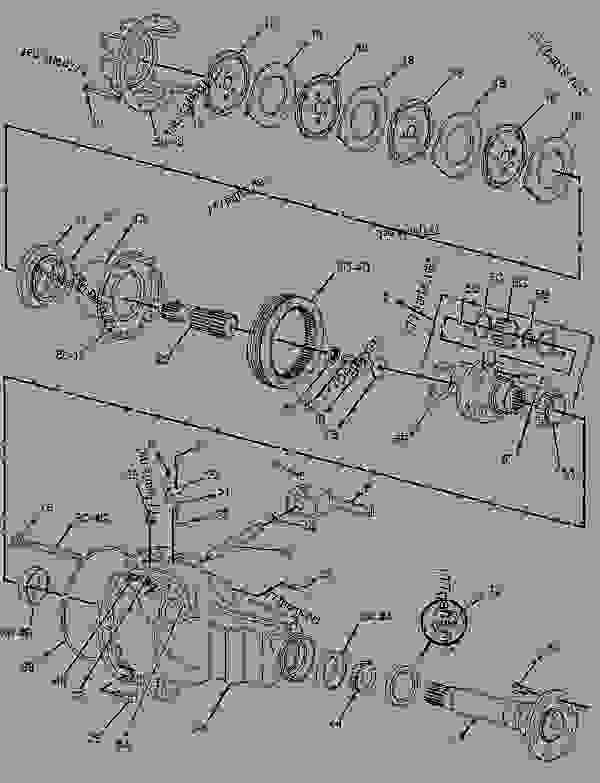 Caterpillar Backhoe Parts Diagram : Caterpillar c backhoe engine diagram case