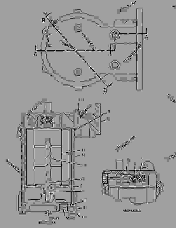 Parts scheme 1467272 DIFFERENTIAL GROUP-NOSPIN   - EARTHMOVING COMPACTOR Caterpillar 836G - 836G Landfill Compactor 3456 Engine 7MZ00001-UP (MACHINE) POWER TRAIN | 777parts