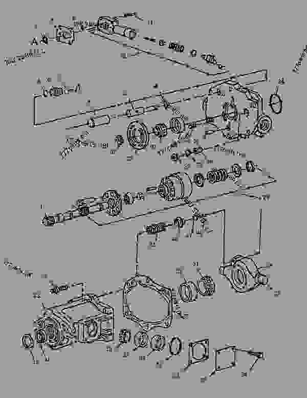 Parts scheme 0869871 PUMP GROUP-PISTON  -PROPEL - COLD PLANER Caterpillar PM-565B - PM-565B Cold Planer 8GS00001-UP (MACHINE) POWERED BY 3408C Engine HYDRAULIC SYSTEM | 777parts