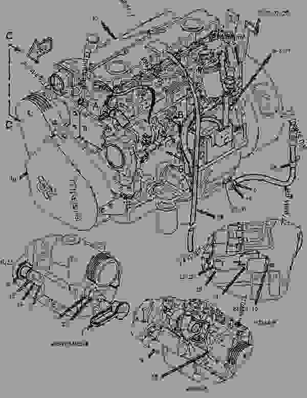 Parts scheme 1648499 ENGINE AR   - ASPHALT PAVER Caterpillar AP-655C - AP-655C.BG-2255C Asphalt Paver CDG00001-UP (MACHINE) POWERED BY 3056 Engine ENGINE ARRANGEMENT | 777parts