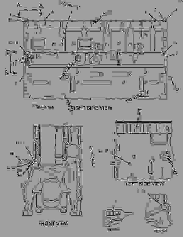 Parts scheme 1462741 CYLINDER BLOCK GROUP   - ARTICULATED DUMP TRUCK Caterpillar 740 - 740 Articulated Truck AXM00001-UP (MACHINE) POWERED BY 3406E Engine BASIC ENGINE | 777parts