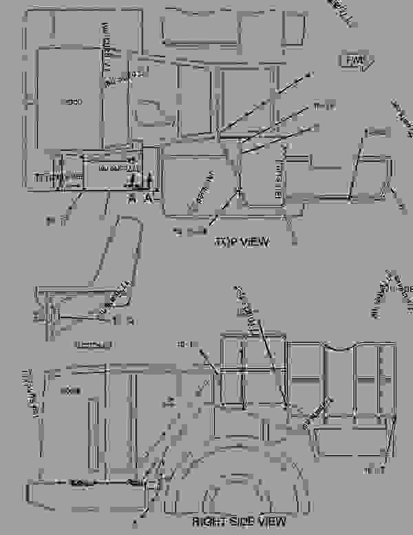 Parts scheme 1638033 DOOR GROUP-ACCESS  -HOOD SIDE, REAR, RH - EARTHMOVING COMPACTOR Caterpillar 836H - Custom Product Support Literature for the 834H Wheel Type Tractor and the 836H Landfill Compactor BXD00001-UP (MACHINE) FRAME AND BODY | 777parts