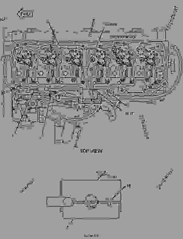 2726513 Wiring Group Electronic Control Engine Truck