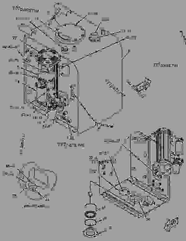 Parts scheme 2478992 PUMP GROUP-MAIN HYDRAULIC   - EXCAVATOR Caterpillar 330D LN - 330D L & 330D N Hydraulic Excavator GGE00001-UP (MACHINE) POWERED BY C-9 Engine HYDRAULIC SYSTEM | 777parts
