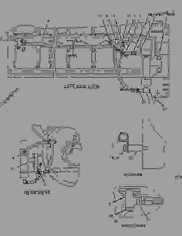 2006504 heater group jacket water engine generator set rh 777parts net 3126 Caterpillar Engine Service Parts Cat 3126 Engine Diagram