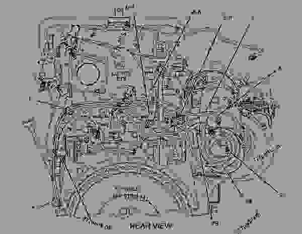 Cat C12 Fuel System Diagram Wiring Diagram And Fuse Box