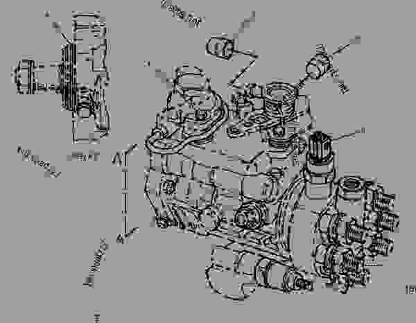 cat 3208 fuel pump diagram