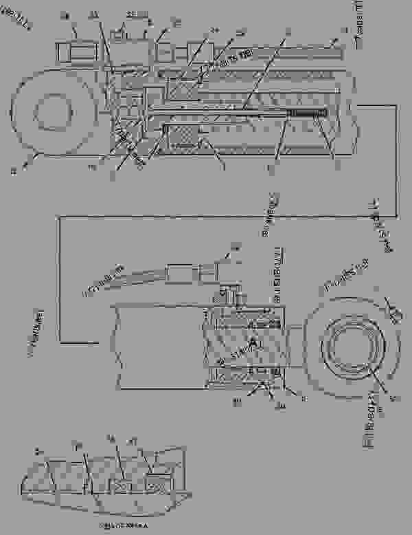 Parts scheme 2367794 ACCUMULATOR GROUP-BRAKE  -CHARGED-SERVICE - ARTICULATED DUMP TRUCK Caterpillar 730 - Series 730 Articulated Truck B1M00001-UP (MACHINE) POWERED BY C11 Engine BRAKING SYSTEM | 777parts