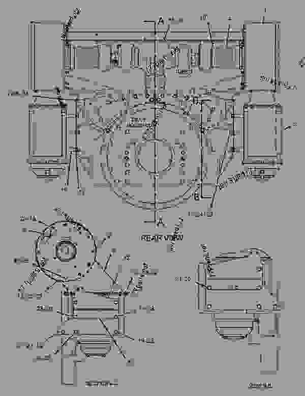 Parts scheme 7W9828 ADAPTER GROUP-AIR CLEANER   - ENGINE - GENERATOR SET Caterpillar 3508B - 3508B Generator Set Oil Field Land Rig PTN00001-UP AIR INLET AND EXHAUST SYSTEM | 777parts