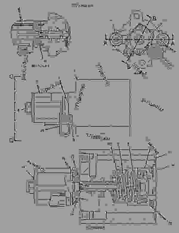 Parts scheme 2176719 ACTUATOR GROUP-PILOT CONTROL  -PROPORTIONAL SOLENOID-REGENERATION VALVE - EARTHMOVING COMPACTOR Caterpillar 836G - Custom Product Support Literature for the 834G Series II Wheel Type Tractor and 836G Series II Landfill Compactor BRL00001-UP (MACHINE) HYDRAULIC SYSTEM | 777parts