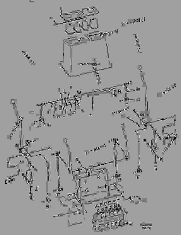 Parts scheme 1121837 CONTROL GROUP-HYDRAULIC HAND  -BACKHOE - BACKHOE LOADER Caterpillar 436C - 436C Backhoe Loader Center Pivot, Parallel Lift 1PR00001-01598 (MACHINE) POWERED BY 3054 Engine OPERATOR STATION | 777parts