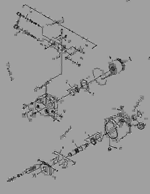 Parts scheme 2198564 MOUNTING GROUP-BANK VALVE   - BACKHOE LOADER Caterpillar 416E - 416E Backhoe Loader Single Tilt Center Pivot SHA00001-UP (MACHINE) POWERED BY 3054C Engine HYDRAULIC SYSTEM | 777parts