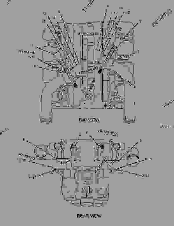 Parts scheme 2745749 SHUTOFF GROUP-AIR  -INLET - ENGINE - GENERATOR SET Caterpillar 3508B - 3508B Generator Set CNB00001-UP AIR INLET AND EXHAUST SYSTEM | 777parts