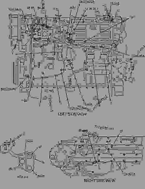 caterpillar 3406e engine diagram caterpillar image cat c15 acert parts diagram jodebal com on caterpillar 3406e engine diagram