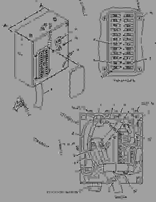2758263 panel group-circuit breaker - caterpillar