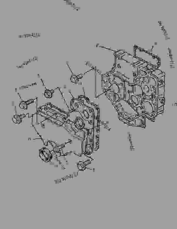 Parts scheme 1458479 HOUSING GROUP-FRONT   - BACKHOE LOADER Caterpillar 426C - 426C Backhoe Loader Center Pivot, Parallel Lift 1NR00001-00953 (MACHINE) POWERED BY 3054 Engine BASIC ENGINE | 777parts
