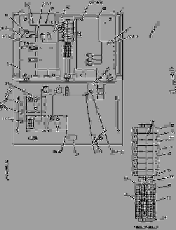 Parts scheme 1455138 WIRING GROUP-ELECTRONIC CONTROL   - ENGINE - GENERATOR SET Caterpillar 3508B - 3508B Generator Set Oil Field Land Rig PTN00001-UP ELECTRICAL AND STARTING SYSTEM | 777parts