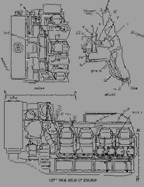 Parts scheme 1304618 HARNESS AS-WIRING  -RECTIFIER - ENGINE - GENERATOR SET Caterpillar 3508B - 3508B Generator Set Oil Field Land Rig PTN00001-UP ELECTRICAL AND STARTING SYSTEM | 777parts