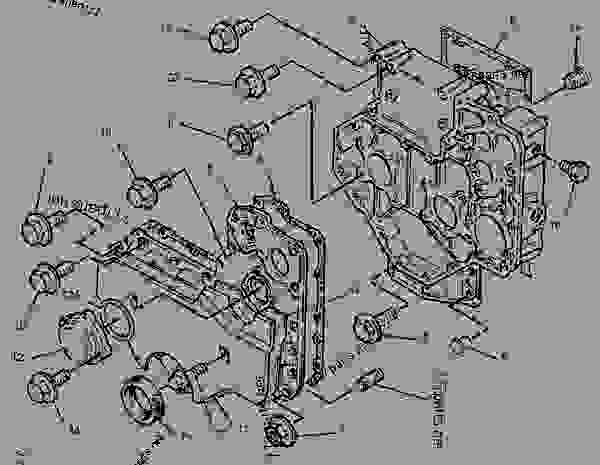 Parts scheme 1014071 HOUSING GROUP-FRONT   - PAVING COMPACTOR Caterpillar CB-545 - CB-545 Vibratory Compactor 2FS00001-UP (MACHINE) POWERED BY 3054 Engine BASIC ENGINE | 777parts
