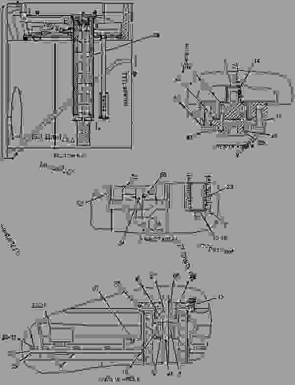 Parts scheme 1879090 PUMP GROUP-PISTON  -BRAKE - ARTICULATED DUMP TRUCK Caterpillar 735 - 735 Articulated Truck B1N00001-UP (MACHINE) POWERED BY C15 Engine HYDRAULIC SYSTEM | 777parts