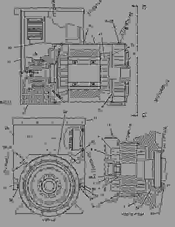 Parts scheme 4P2788 GOVERNOR AS-ELECTRONIC   - ENGINE - GENERATOR SET Caterpillar 3406C - 3406B Generator Set 4RG00001-01501 FUEL SYSTEM | 777parts