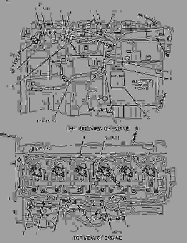 2212320 wiring group-electronic control - engine