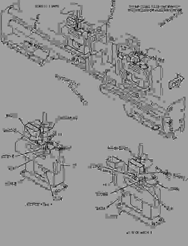 Parts scheme 2764579 ADJUSTER GROUP-HEIGHT   - ASPHALT PAVER Caterpillar AS3251C - AS3251C Screed JJN00001-UP CONTROLS | 777parts