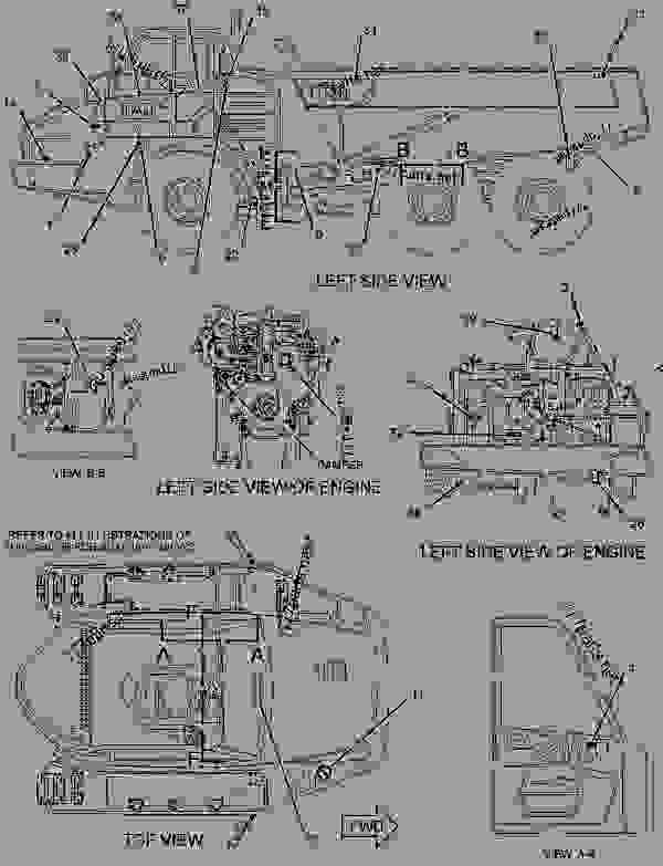 Parts scheme 2991368 PLATE & FILM GROUP   - ARTICULATED DUMP TRUCK Caterpillar 730 - 730 OEM Articulated Truck WWB00001-UP (MACHINE) POWERED BY C11 Engine SERVICE EQUIPMENT AND SUPPLIES | 777parts