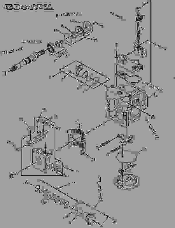Parts scheme 3333638 PUMP GROUP-GEAR   - ASPHALT PAVER Caterpillar BG-2455D - AP-1055D, BG-2455D Steel Track Asphalt Paver BNW00001-UP (MACHINE) POWERED BY C7 Engine HYDRAULIC SYSTEM | 777parts