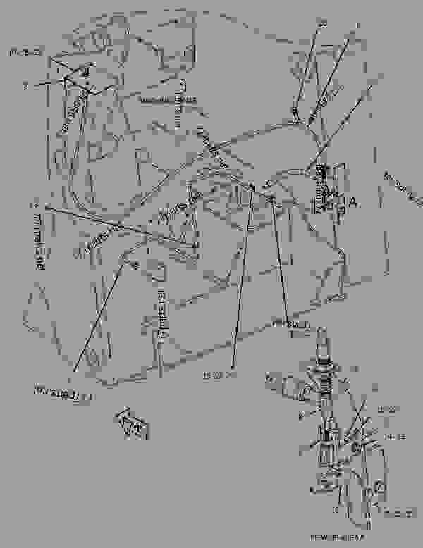 wiring diagram for a 410g backhoe