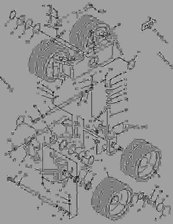 Parts scheme 1135387 BOGIE GROUP   - ASPHALT PAVER Caterpillar BG-230 - CATERPILLAR AP-800C BARBER-GREENE BG-230 Asphalt Pavers 9AL00001-UP (MACHINE) POWERED BY 3054 Engine UNDERCARRIAGE | 777parts