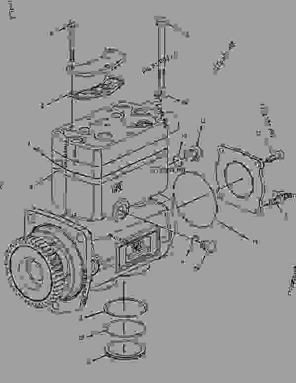3042694 air compressor group - engine