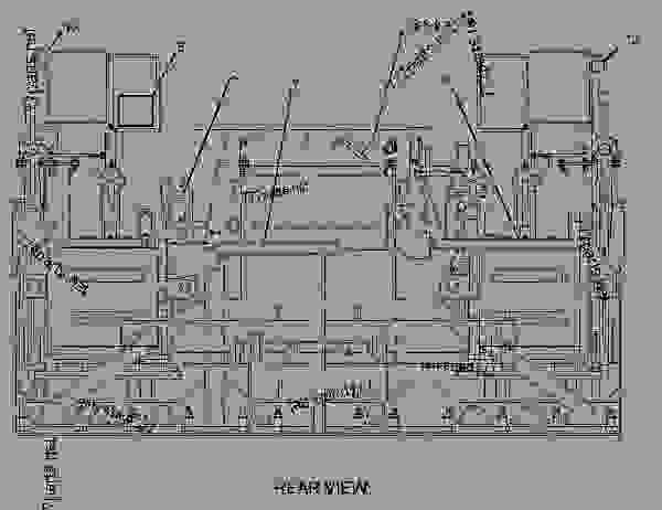 Parts scheme 1459417 PLATE GROUP-BEVEL END  -1.5-INCH - ASPHALT PAVER Caterpillar 8-16B - 8-16B SCREED BWL00001-UP IMPLEMENTS | 777parts