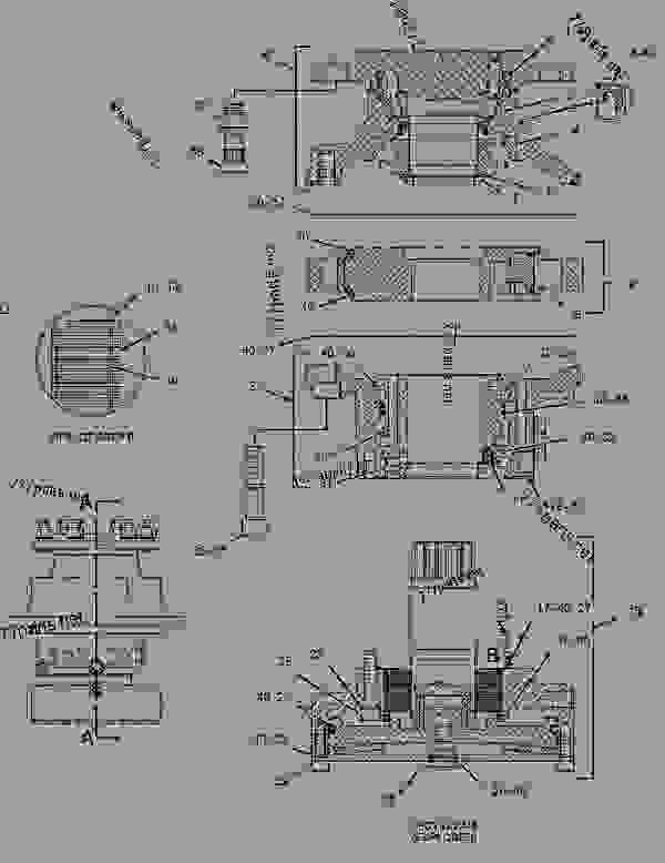 Parts scheme 2636122 MOTOR GROUP-PISTON  -PROPEL - PAVING COMPACTOR Caterpillar CB-434D - CB-434D CB-434DXW Vibratory Compactor CNH00001-UP (MACHINE) POWERED BY 3054C Engine HYDRAULIC SYSTEM | 777parts