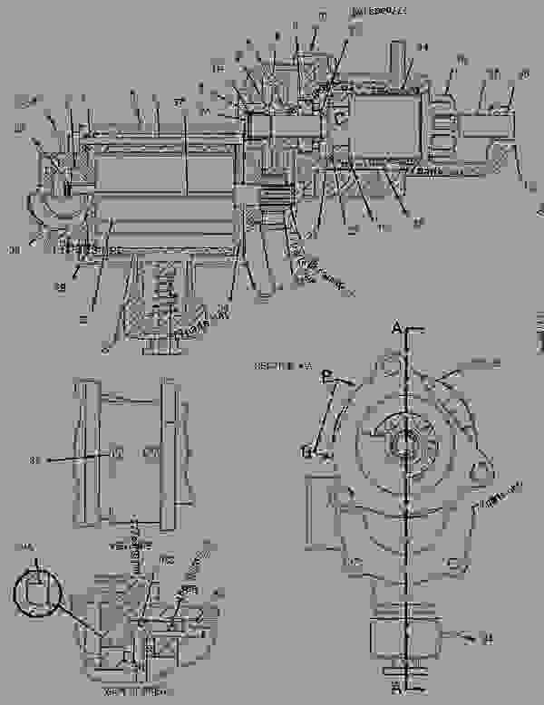 Parts scheme 1055081 STARTING MOTOR GROUP-AIR   - ENGINE - GENERATOR SET Caterpillar 3406C - 3406C Generator Set 1LS00001-UP ELECTRICAL AND STARTING SYSTEM | 777parts