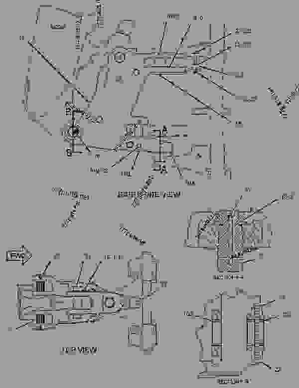 Parts scheme 2127458 FRAME GROUP-SLIDING   - BACKHOE LOADER Caterpillar 442E - 442E Backhoe Loader PCR00001-UP (MACHINE) POWERED BY C4.4 (MECH) Engine FRAME AND BODY | 777parts