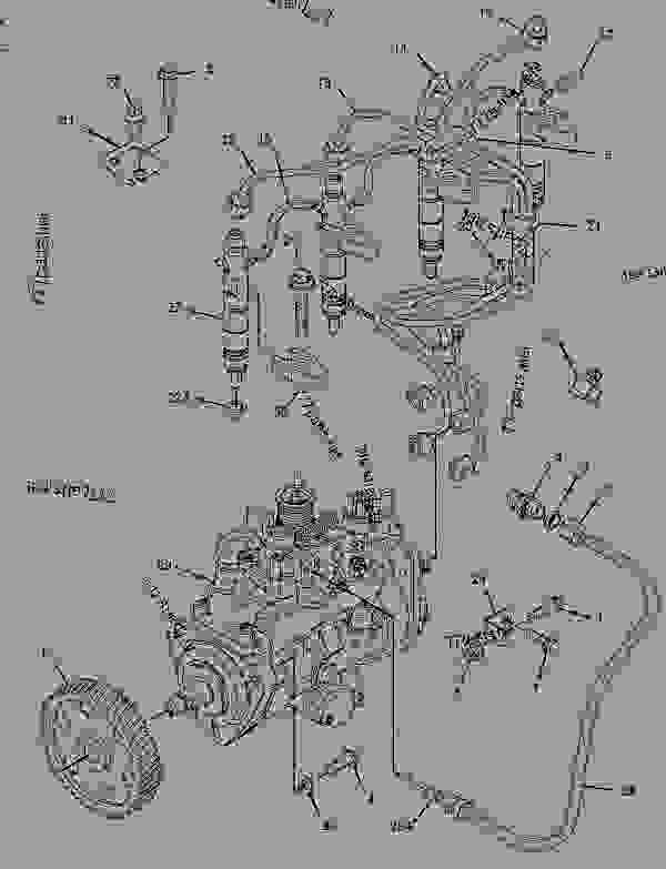 Parts scheme 2368228 PUMP GROUP-FUEL INJECTION   - BACKHOE LOADER Caterpillar 442E - 442E Backhoe Loader Parallel Lift Side Shift Boom GKZ00001-UP (MACHINE) POWERED BY 3054C Engine FUEL SYSTEM | 777parts