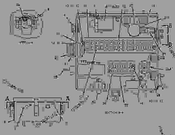 M11 Cummins Engine Wiring Diagram as well Cat C7 Fuel Injector Diagram moreover 51970 Oil Pressure Sending Unit besides Series 60 Cooling System  ponents furthermore SEBP10230108. on marine cat 3126 wiring diagram