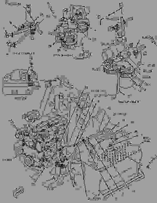Parts scheme 2341981 AIR CLEANER GROUP  -BASIC - BACKHOE LOADER Caterpillar 416E - 416E Single Tilt Backhoe Loader BWC00001-UP (MACHINE) POWERED BY C4.4 Engine AIR INLET AND EXHAUST SYSTEM | 777parts
