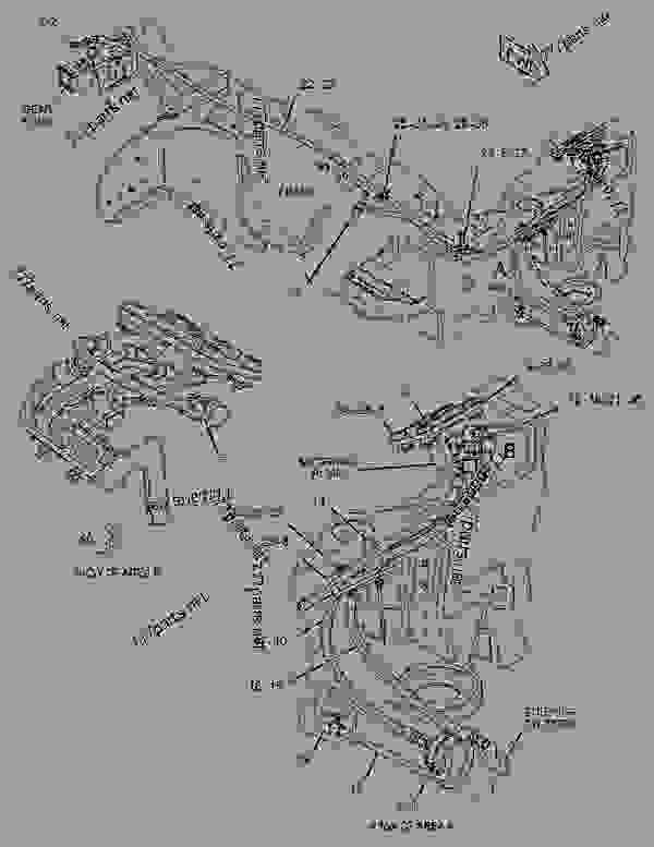 Parts scheme 2588553 PLATE GROUP-FIREWALL   - WHEEL-TYPE LOADER Caterpillar 908H - 908H Wheel Loader LMD00001-UP (MACHINE) POWERED BY C3.4 IND Engine FRAME AND BODY | 777parts